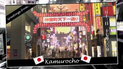 Yakuza 4 - Locations Trailer