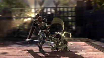 Soul Calibur: Lost Swords Siegfried - He who fights the past Trailer