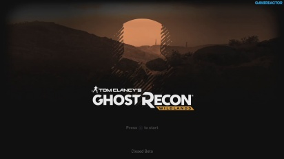 Ghost Recon: Wildlands - Enspillertesting i betaen