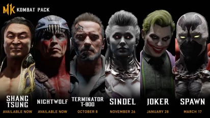 Mortal Kombat 11 - Kombat Pack Official Roster Reveal Trailer