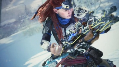 Monster Hunter World: Iceborne - Horizon Zero Dawn: The Frozen Wilds Teaser Trailer