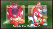 Mega Man Zero/ZX Legacy Collection - Red Hero Trailer
