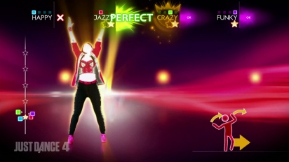 Just Dance 4 - Selena Gomez & The Scene - Hit The Lights DLC Gameplay Trailer
