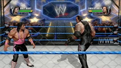 WWE All Stars - Bret Hart vs. The Undertaker