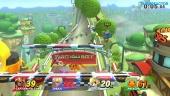 Gameplay: Super Smash Bros. for Wii U - 3 mot én Level 50 Amiibo