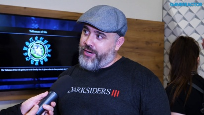 Darksiders III - intervju med Richard Vorodi