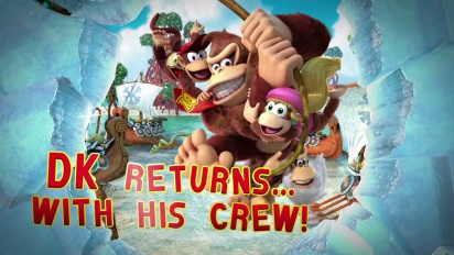 Donkey Kong Country: Tropical Freeze - Aquatic Action Trailer