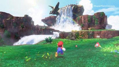 Super Mario Odyssey - E3 2017 Gameplay Trailer