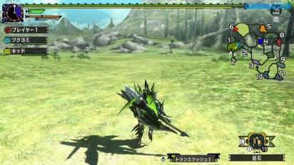 Monster Hunter XX - Gran Maccao Nintendo Switch-gameplay