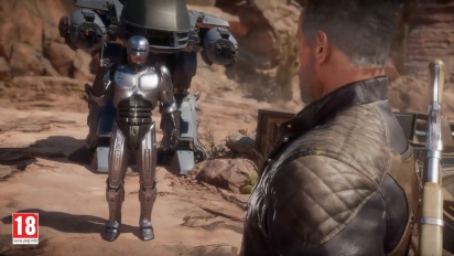Mortal Kombat 11: Atermath. RoboCop vs the Terminator