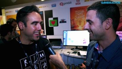 Gamelab 2014: Rise & Shine-intervju