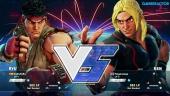 Gameplay: Street Fighter V beta - Ryu vs. Ken