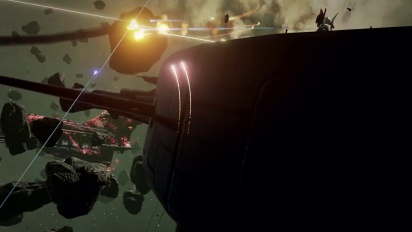 Eve: Valkyrie - Carrier Assault Gameplay Trailer