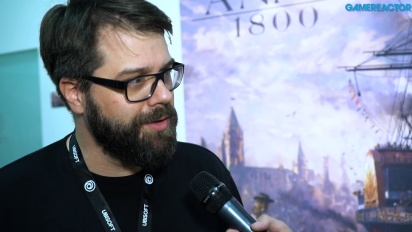 Anno 1800 - Dirk Riegert Interview
