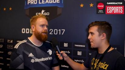 Finalen i ESL Pro League  - intervju med Ruggah