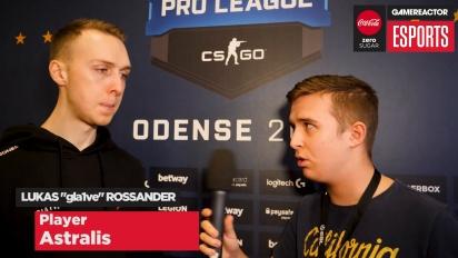 Finalen i ESL Pro League  - intervju med Gla1ve