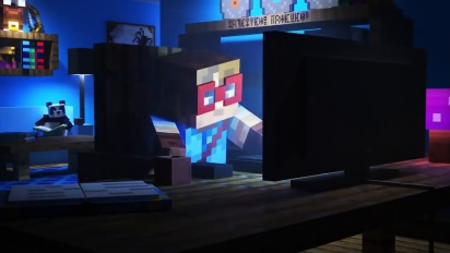 Minecraft Dungeons - Cross-platform Play Together Trailer