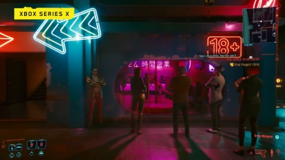 Cyberpunk 2077 - Official Xbox One footage (Night City Wire Special Episode)