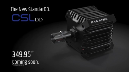 Fanatec CSL DD - Direct Drive for Everyone Trailer