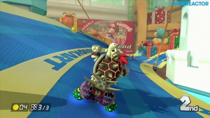 Gameplay: Mario Kart 8: DLC Pack 2 - Bell Cup