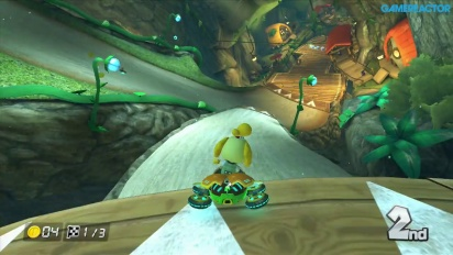 Gameplay: Mario Kart 8: DLC Pack 2 - Crossing Cup