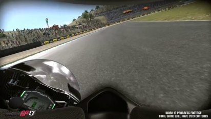 MotoGP 13 Gameplay Video #2 - Gran Premio bwin de España