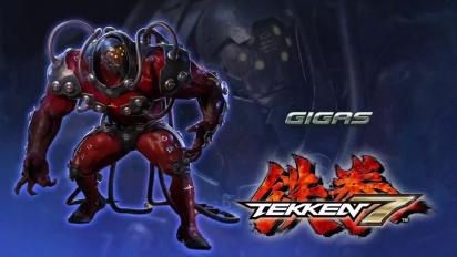 Tekken 7 - Japanese Gigas Reveal Trailer