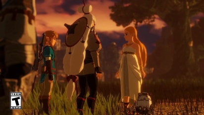 Hyrule Warriors: Age of Calamity - Launch Trailer
