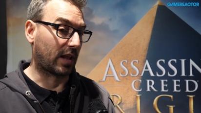 E3 17 - Assassin's Creed: Origins - Jean Guesdon-intervju