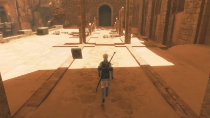 NieR Replicant ver.1.22474487139 - The Barren Temple Gameplay