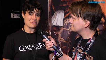 Greedfall - Jehanne Rousseau Interview E3 2018