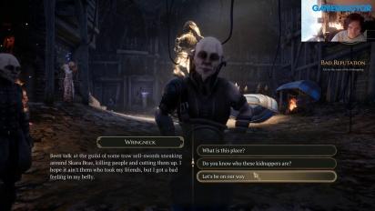 The Bard's Tale IV: Barrows Deep - Livestream Replay
