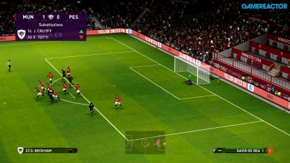 eFootball PES 2020 - Manchester United vs PES Legends-gameplay
