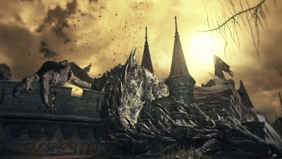 Dark Souls III - Gameplay Reveal Trailer Gamesom 2015