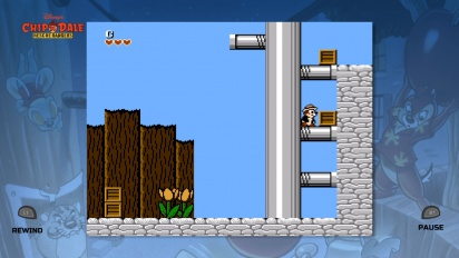 Se gameplay fra Chip 'n' Dale Rescue Rangers