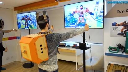 Nintendo Labo: Robot Kit - Vi tar på oss Robot Toy-Con Suit
