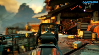 Rage 2 - Outpost Gameplay