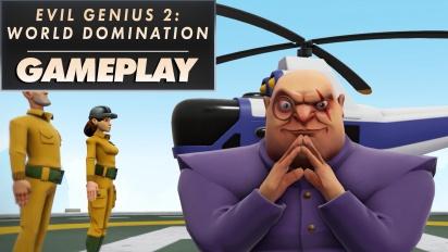 Evil Genius 2: World Domination - Gameplay