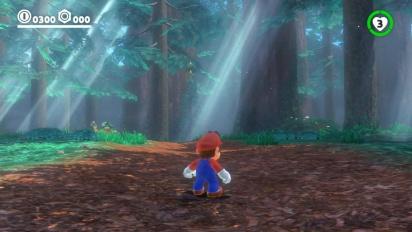 Super Mario Odyssey - Co-op Demonstration