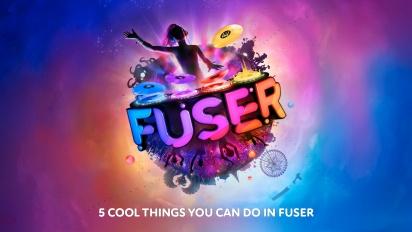 Fuser - Fem kule ting å gjøre i Fuser (Sponset)