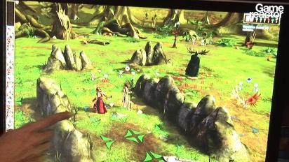 E3 11: Magic the Gathering: Tactics Gameplay