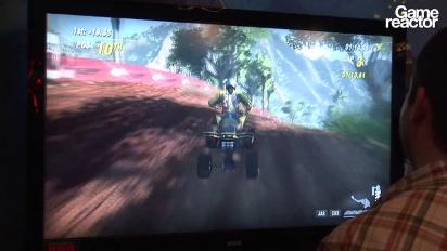 E3 11: MX vs ATV Alive Gameplay