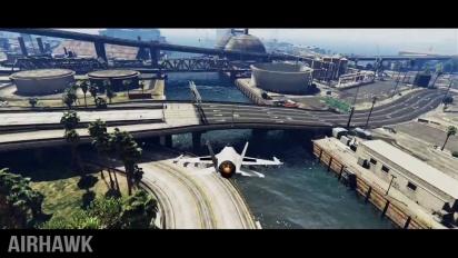 Grand Theft Auto V - Epic Jet Stunt Montage