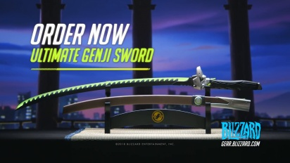 Overwatch - Ultimate Genji Sword Pre-Order Trailer
