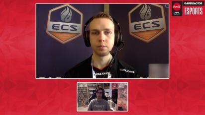 ECS Season 6 Finals - intervju med Gla1ve