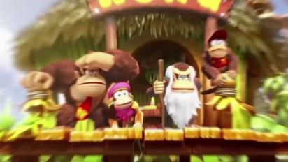 Donkey Kong Country: Tropical Freeze - Cranky Kong Trailer