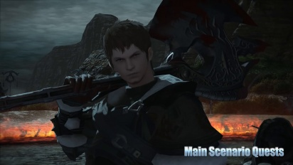 Final Fantasy XIV - Patch 3.4 Soul Surrender Trailer