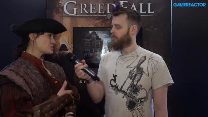 Greedfall - Jehanne Rousseau-intervju