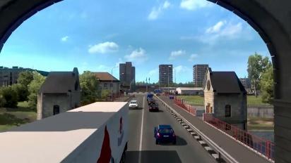Euro Truck Simulator 2 - Beyond the Baltic Sea DLC