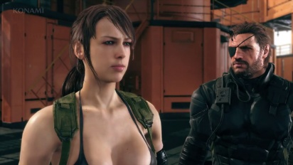 Metal Gear Solid V: Phantom Pain - Quiet Not Silent Trailer